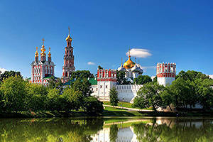 The Novodevichy Convent in Moscow