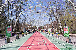 Bike paths in Sokolniki