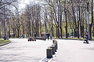 Walking paths in Sokolniki