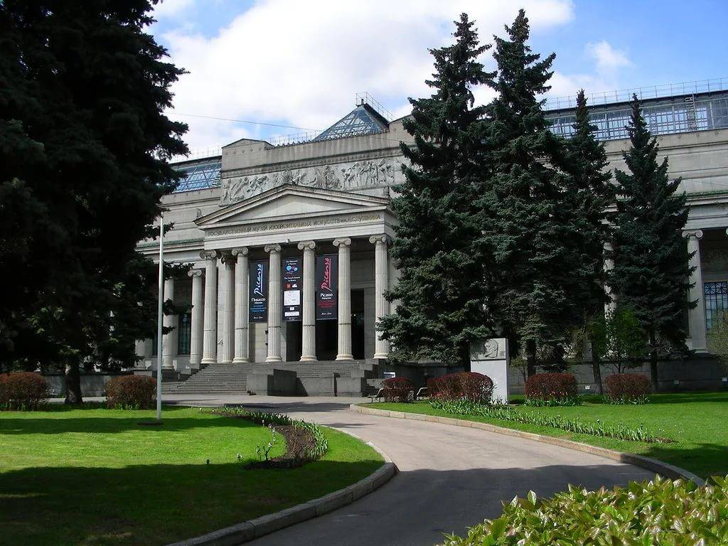 The Pushkin State Museum of Fine Arts Moscow Attractions