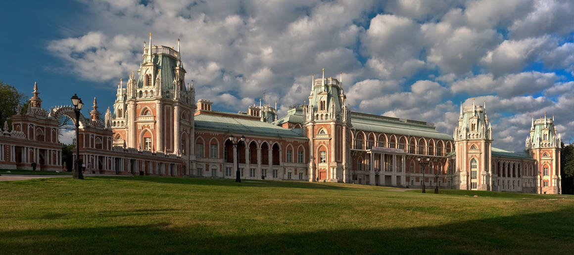 Tsaritsyno Park in Moscow