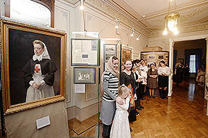 In the museum, dedicated to Elizabeth Feodorovna