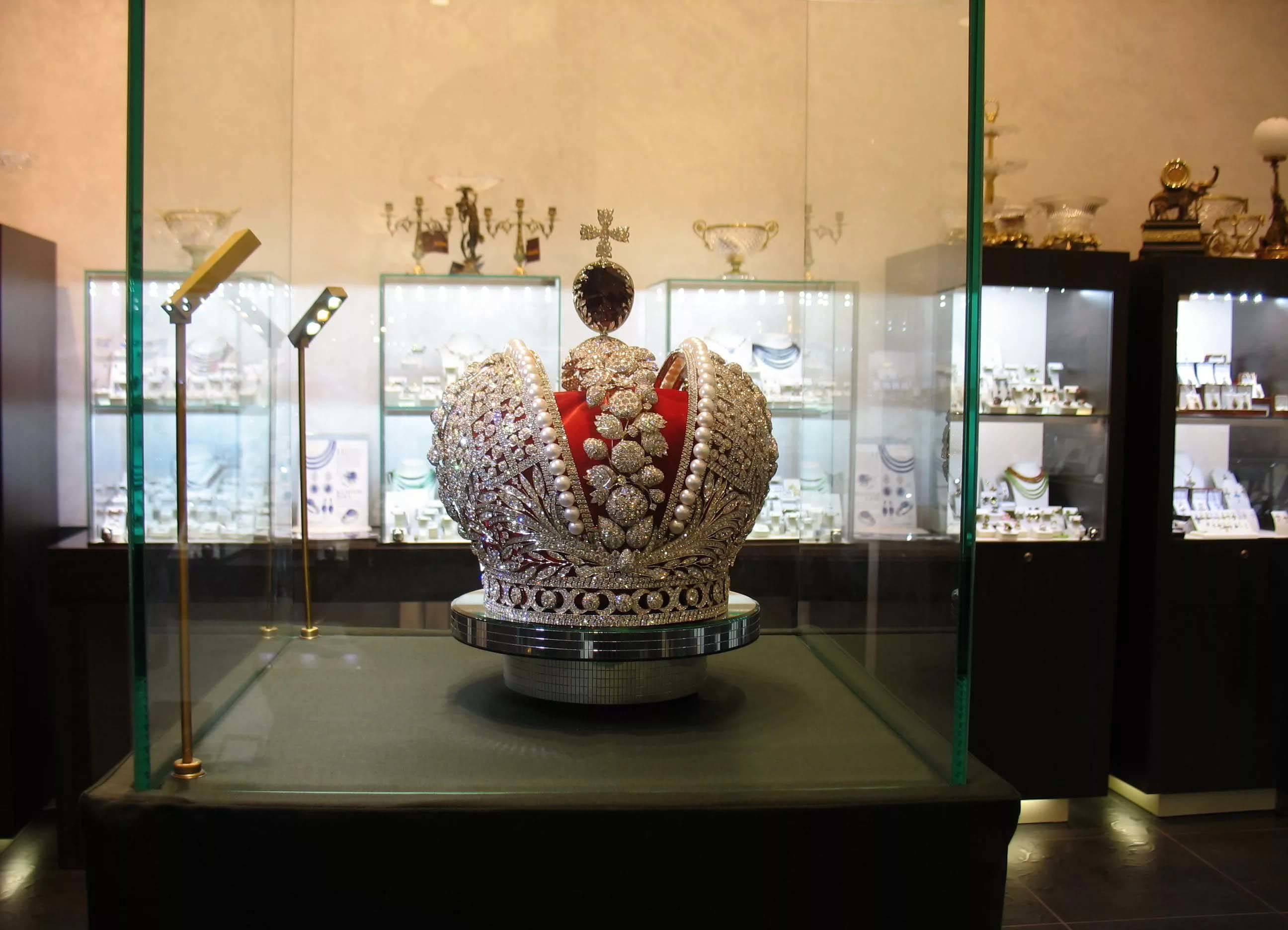 One of Moscow's most celebrated museums, the Diamond Fund