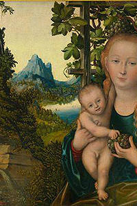 Lucas Cranach. Madonna and Child