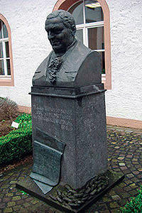 The monument to F. Haas