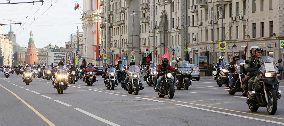 Bikers' Places in Moscow