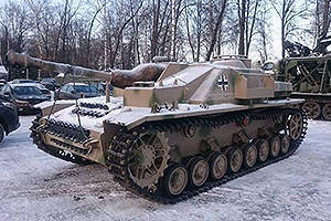 StuG IV - the average German AC of World War II on the basis of the tank PzKpfw IV.