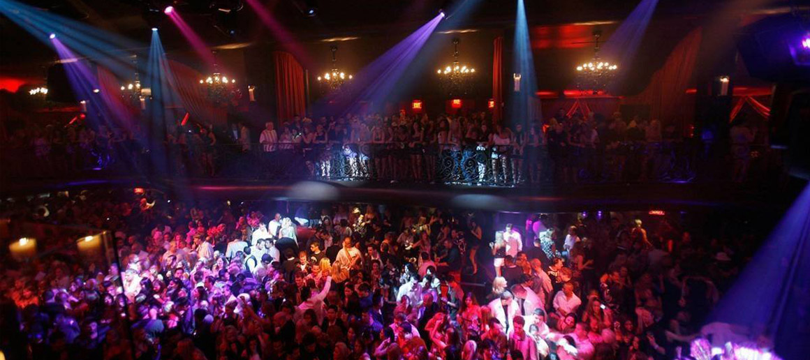 Moscow's fancy night clubs