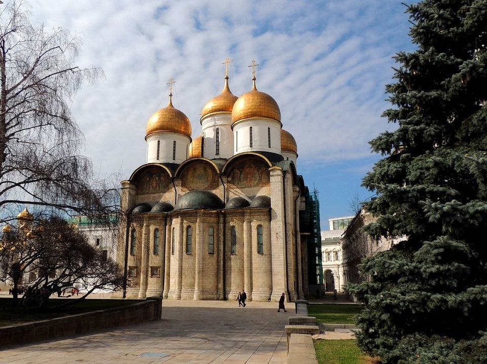 The Dormition Cathedral Moscow attractions