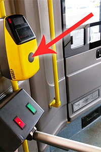 Moscow public transport ticket validation