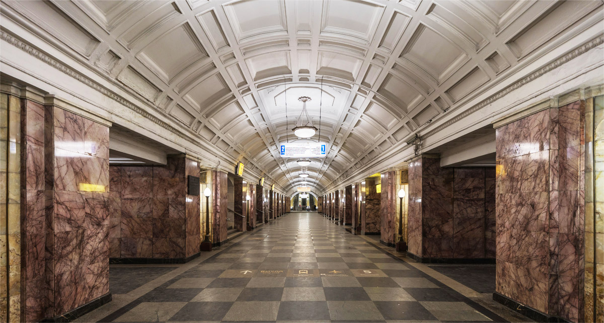 Belorusskaya Station (Zamoskvoretskaya Line) Moscow top attractions