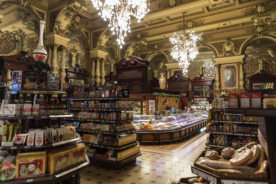 Eliseyev Food Hall Top Moscow Attractions